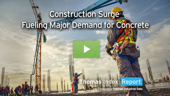 Surge in Construction Projects, Infrastructure Package Fuel Major Demand for Cement