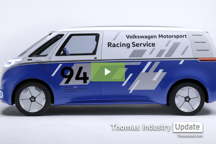 VW Unveils Autonomous Mobile Workstation