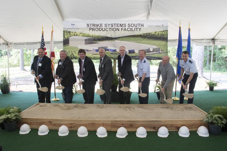 Lockheed Martin team breaks ground on new strike systems facility