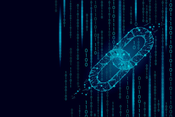 visual of blockchain