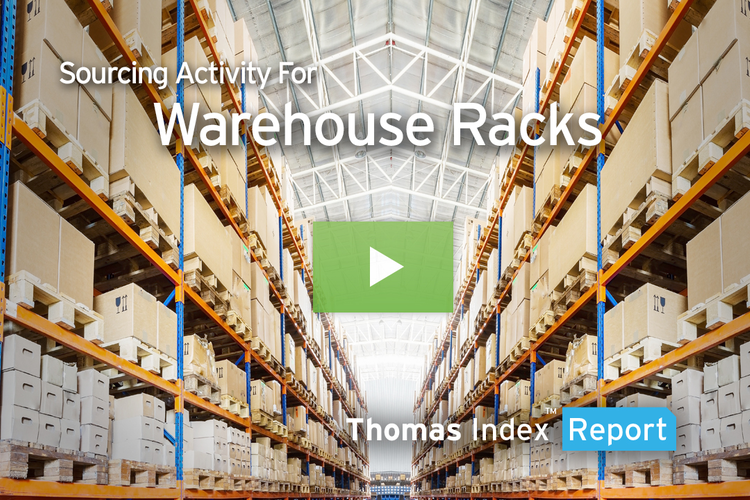 Warehouse Rack Sourcing Mounts as Manufacturing, E-commerce Grow