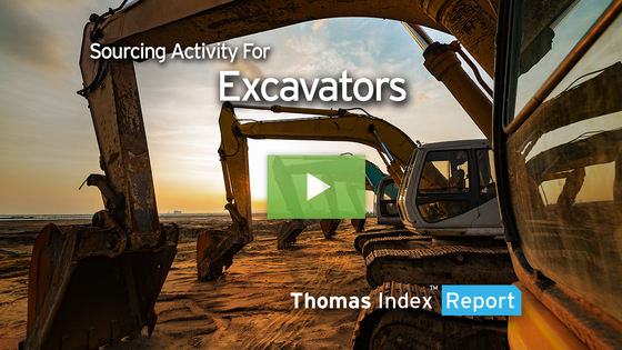 Excavator Sourcing Booms as Construction Sees Resurgence