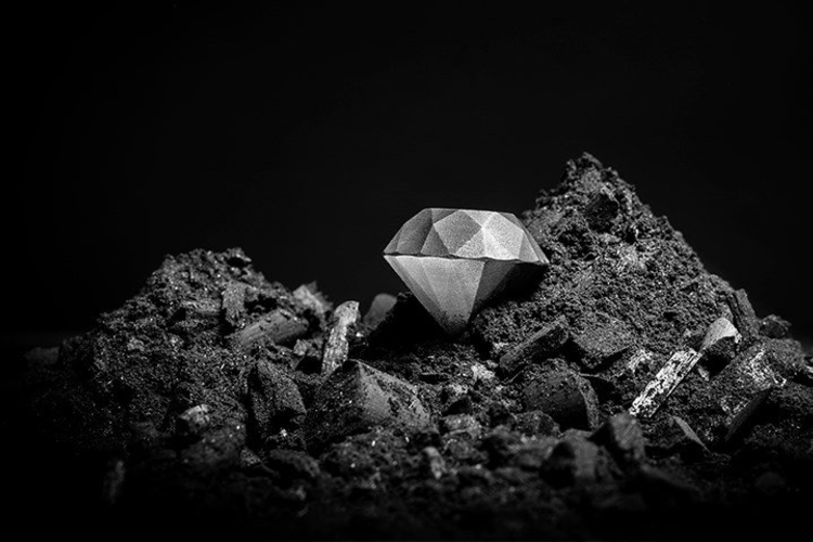First 3D-Printed Diamond Composite Material Unveiled