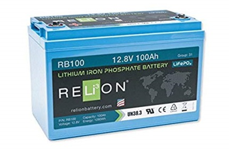 RELiON's low temperature series of lithium iron phosphate batteries