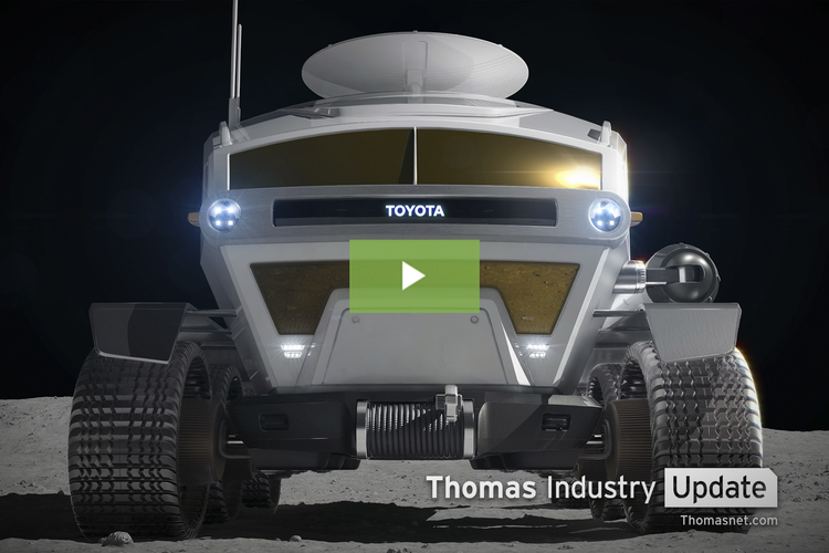 Toyota to Help Develop Moon Rover