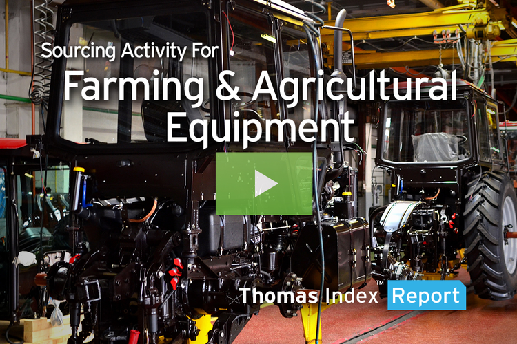 Agricultural Equipment Sourcing Grows as Industry Reaps Automation Benefits