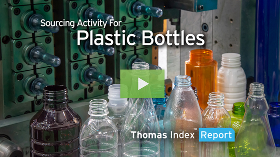 Contradicting Industry Expectations, Plastic Bottle Sourcing Increases Amid COVID-19-related Market Shifts