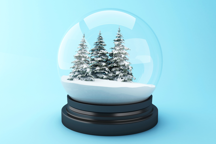 Snow On Christmas.The Accidental Invention Of The Snow Globe
