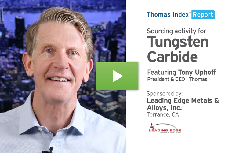 Fueled by Industry Growth, Military Spending, Tungsten Carbide Sourcing Spikes
