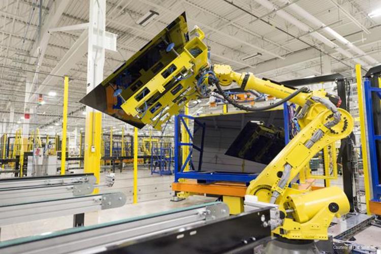 Solar Panel Maker Completes $1 Billion Expansion in Ohio