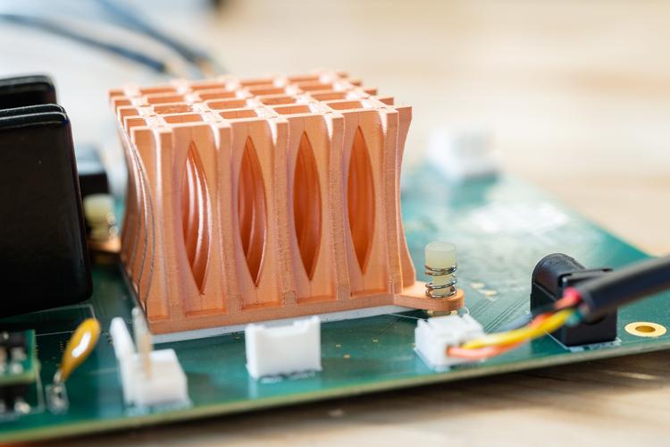 Copper 3D printing.