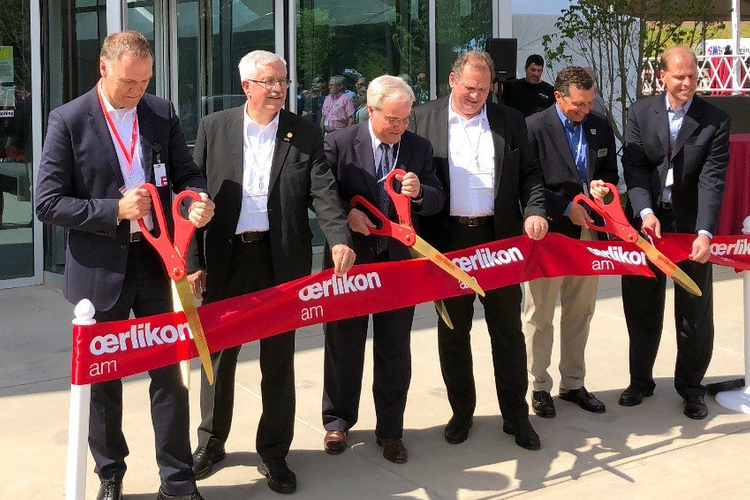 Oerlikon Sets Up Base of Operations in the US for Additive Manufacturing Sect