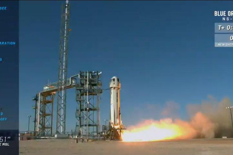 Blue Origin Launches Reusable Rocket with Record Payload