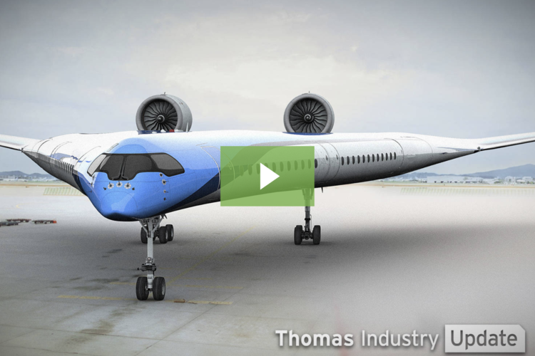 Flying-V Aircraft Concept Wants to Put Passengers in the Wings