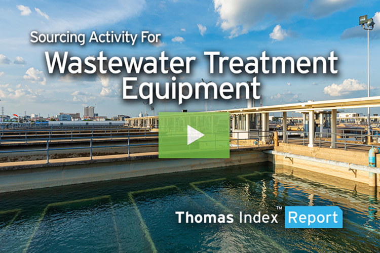 With $281 Million Federal Investment, Wastewater Treatment Equipment Sourcing Rises