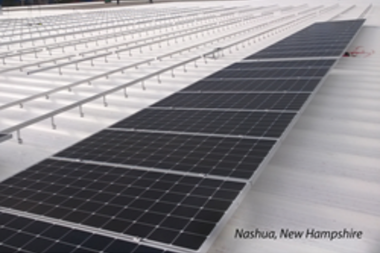 Adhesives Manufacturer Installs New Hampshire's Largest Solar Array