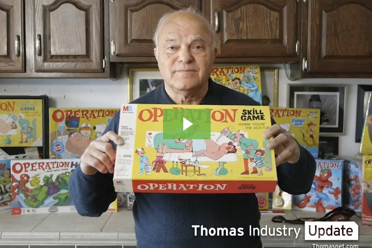 The Man Who Sold 'Operation' Game Prototype for $500