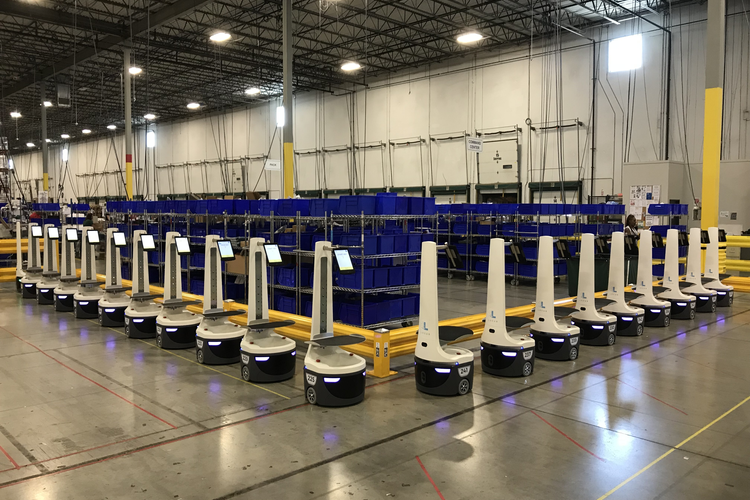 Warehouse Robotics Startup Raises $150 Million, Now Valued at $1 Billion