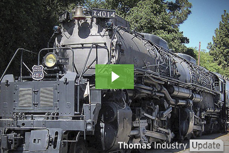 Restored 'Big Boy' Steam Locomotive Makes its Debut