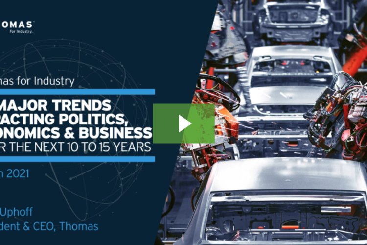 """From His Industrial """"Ringside Seat,"""" 2021 McAllister Top Manager Predicts This Year's Top 10 Trends"""