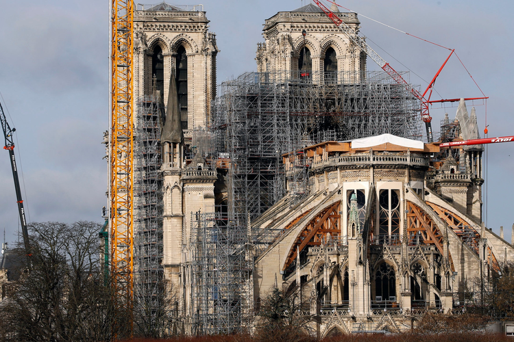 Notre Dame Paris Christmas Mass 2021 1 Year After Its Historic Fire A Look Into The Reconstruction Of The Notre Dame Cathedral