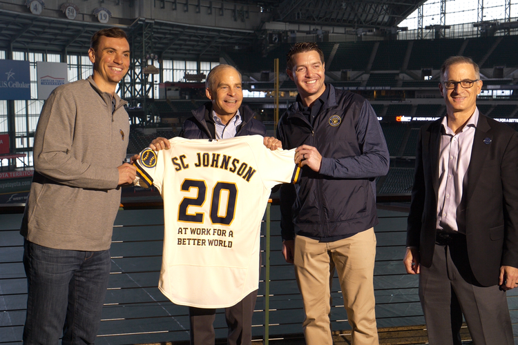 SC Johnson Teams Up with Milwaukee Brewers  to Turn Fans' Plastic Cups into Bottles