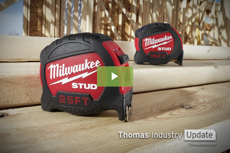 Milwaukee Tool's STUD is One Tough Tape Measure