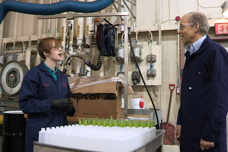 SC Johnson Converts Production Line to Make 75,000 Bottles of Hand Sanitizer