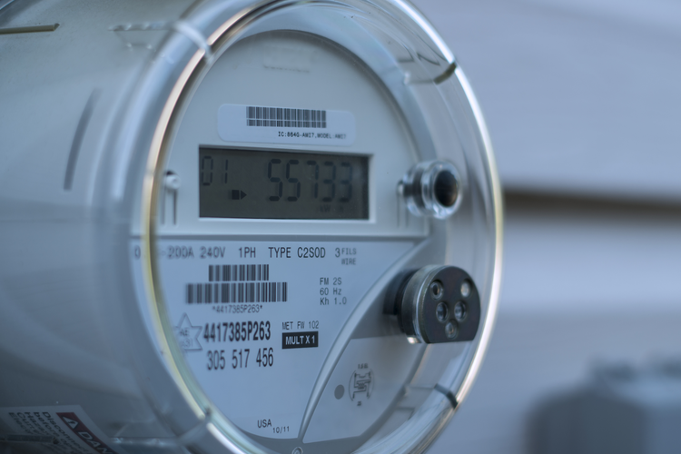 Smart electric energy meter.