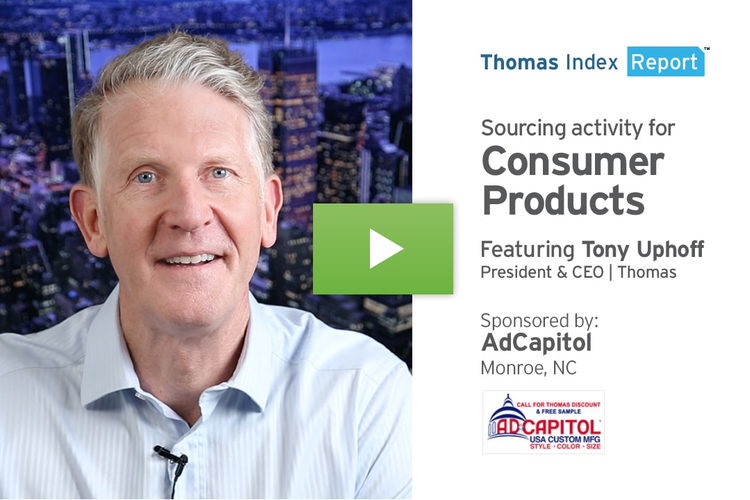 Healthy U.S. Economy Reflected in Consumer Products Markets