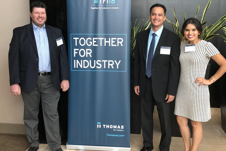 Thomas Hosting 'Together for Industry' Events in CT and MA