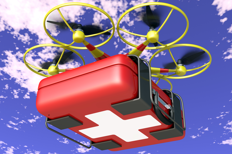 Blood Delivery Drones Set a Record
