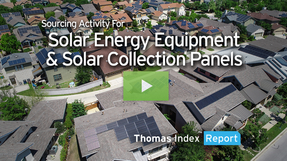Sustained Sourcing for Solar Energy Equipment Indicates Bright Future for Solar Energy