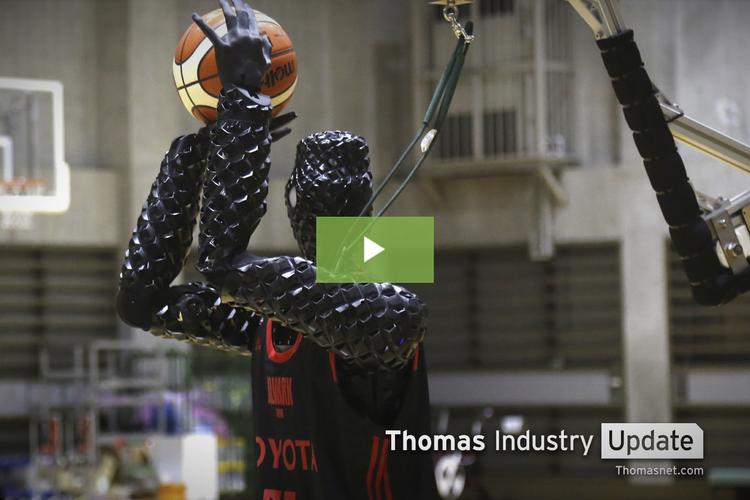 Toyota Demos New Basketball-Playing Robot