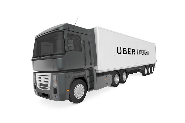 Uber Freight Truck