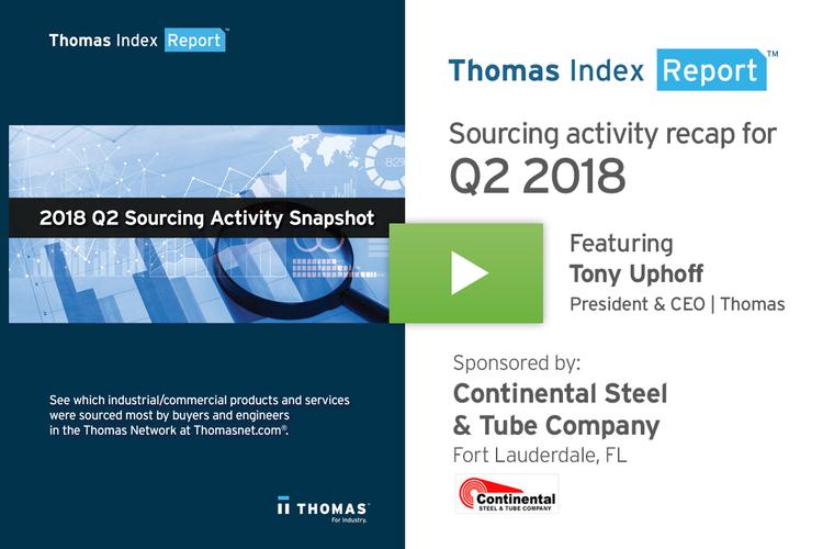 A Recap of 2018 Q2 Sourcing Activity