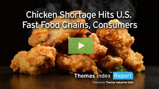Major Chicken Shortage Hits U.S., Posing Big Opportunity for Plant-based Meat Manufacturers
