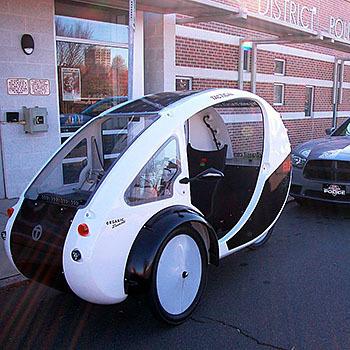 ELF eco-friendly hybrid bicycle and car