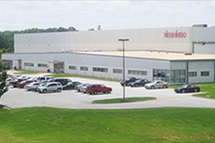 Nisshinbo Automotive Manufacturing facility.