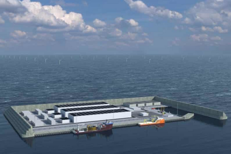 Denmark Is Building an Artificial Island to Provide Enough Wind Power for the Entire Country