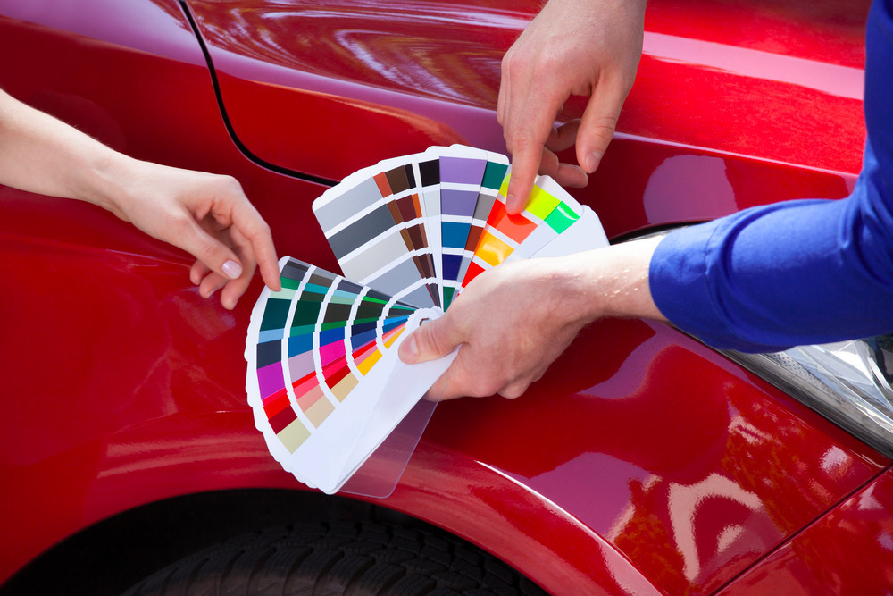 Automotive Paint Urethane V Acrylic