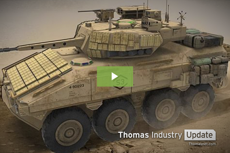 Marines Update Sensor Technology for Armored Vehicle