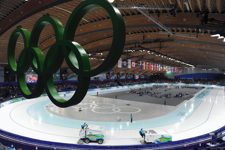 Olympic athlete health is monitored in real-time.