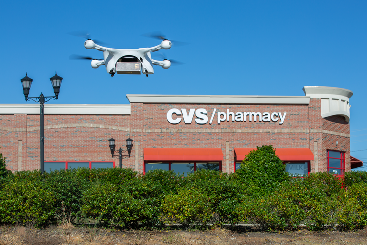 UPS, CVS Team Up to Deliver Medication to Retirees Using Drones