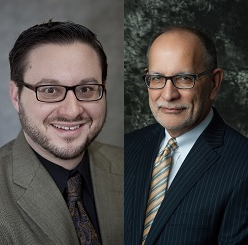 Dr. Michael J. Urick and Jim Baehr