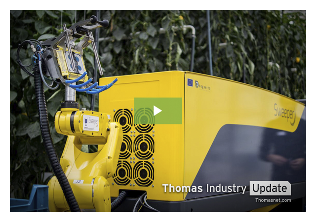 SWEEPER is the Most Advanced Pepper Harvesting Robot in the World