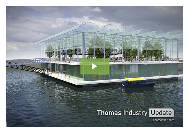 Hurricane-Resistant, Floating Dairy Farm