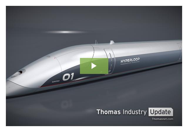 Hyperloop Heats Up with Unveiling of New Passenger Pod