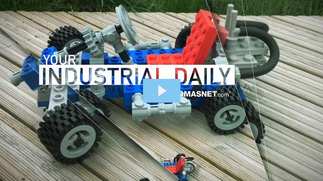 3D-Printed Go-Kart Made With Huge LEGO Bricks