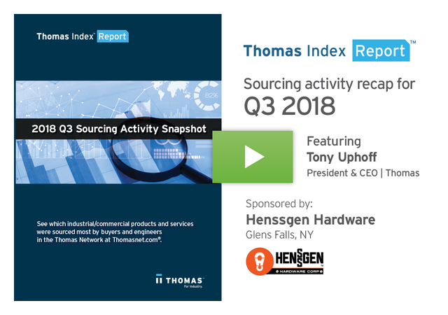 Q3 Sourcing Trends Point to Tariff Uncertainty & Focus on Sustainability